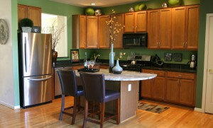 Black Waterfall Kitchen Remodeling in Sterling VA